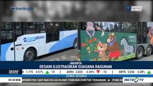 Tampilan Baru Bus TransJakarta