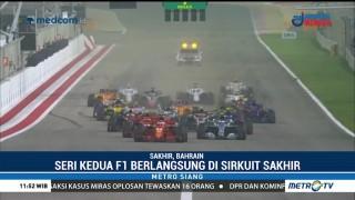 Vettel Kalahkan Duo Mercedes di GP Bahrain