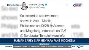 Konser Mariah Carey akan Digelar di Candi Borobudur