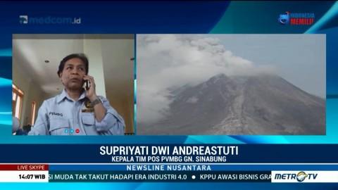 PVMBG: Aktivitas Gunung Sinabung Relatif Tenang Pascaerupsi