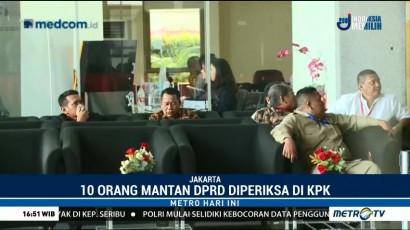 KPK Periksa Sepuluh Anggota DPRD Sumut