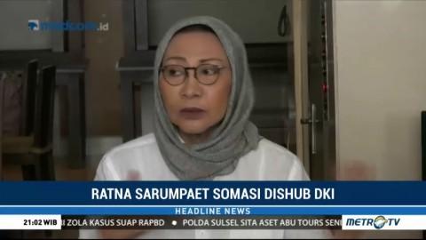 Ratna Sarumpaet Somasi Dishub DKI