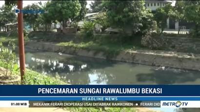 Sungai Rawalumbu Tercemar Limbah Industri