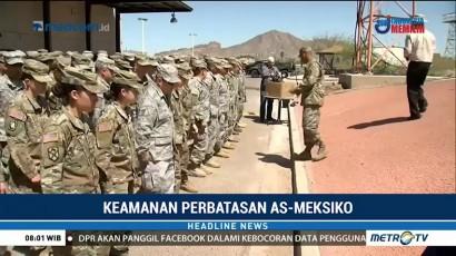 225 Anggota Garda Nasional Diberangkatkan ke Perbatasan AS-Meksiko