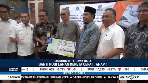 14 Warga Tergusur Proyek Kereta Cepat Jakarta-Bandung Dapat Ganti Rugi