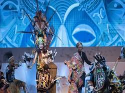 Perkenalan Budaya Indonesia Menlu Retno Menari dalam Pembukaan IAF