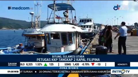 Petugas KKP Tangkap Dua Kapal Filipina Pencuri Ikan di Laut Sulawesi