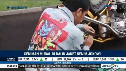 Seniman Mural di Balik Jaket Denim Jokowi