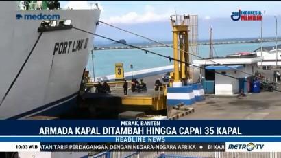 Pelabuhan Merak Siap Hadapi Mudik Lebaran