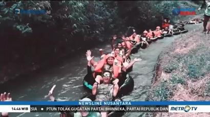 Pacu Adrenalin di Saluran Irigasi Desa Blimbing
