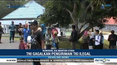 TNI Gagalkan Pengiriman TKI Ilegal dari Pulau Sebatik