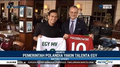 Wamenlu Polandia Temui Egy Maulana di Jakarta