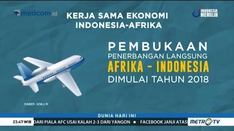 Forum Indonesia-Afrika Hasilkan Potensi Bisnis Lebih dari USD1 Miliar