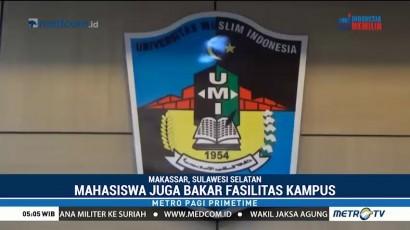 Wakil Rektor UMI Makassar Dikeroyok Mahasiswanya