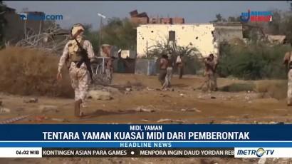 Militer Yaman Berhasil Kuasai Kota Midi