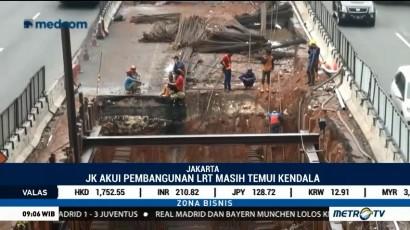 LRT Jakarta Belum Bisa Beroperasi Saat Asian Games