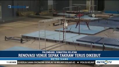 Renovasi Venue Sepak Takraw Ditargetkan Rampung Bulan Juni