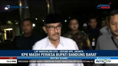 Bupati Bandung Barat Masih Diperiksa KPK