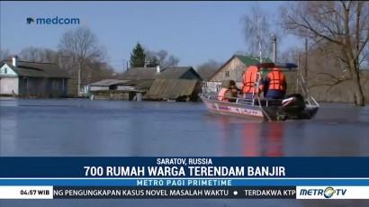 Banjir Bandang Landa Rusia