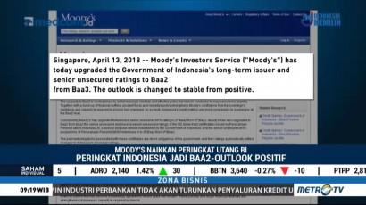 Moody's Naikkan Peringkat Indonesia ke Baa2 dengan <i>Outlook</i> Stabil