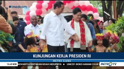 Jokowi Ingatkan Pelajar Kota Sorong Jauhi Narkoba