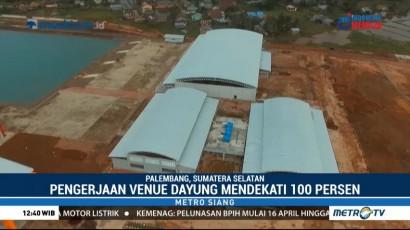 Kesiapan Venue Dayung Jakabaring Sudah Hampir 100 Persen