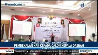 KPK Beri Pembekalan Antikorupsi ke 53 Cakada se-Jawa Timur