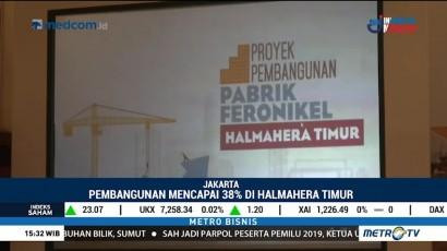 PT Antam akan Bangun Pabrik Feronikel di Halmahera Timur