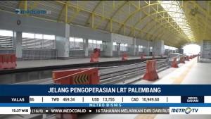 Proyek LRT Palembang Telah Rampung 90%