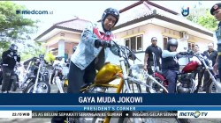 Gaya Muda Jokowi