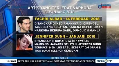 Deretan Artis yang Terjerat Kasus Narkoba di 2018