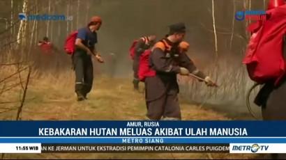 Rusia Berlakukan Kondisi Darurat Kebakaran Hutan