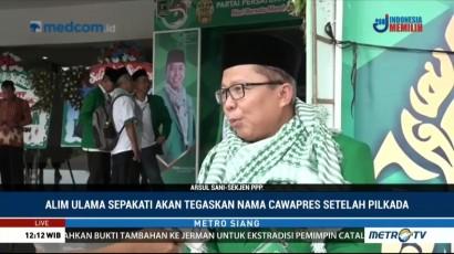 PPP akan Sodorkan Nama Cawapres Jokowi Setelah Pilkada
