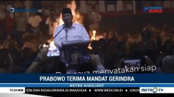 Prabowo Terima Mandat Gerindra