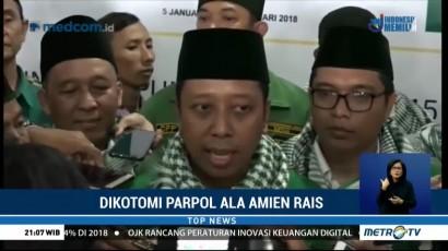 Politisi Kritik Dikotomi Parpol ala Amien Rais