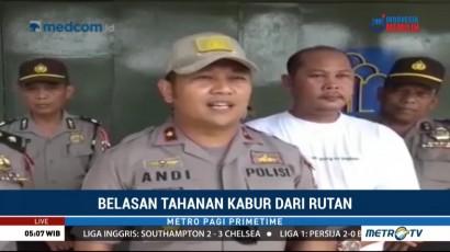 Polisi Bentuk Tim Kejar 16 Tahanan Rutan Labuhan Bilik yang Kabur