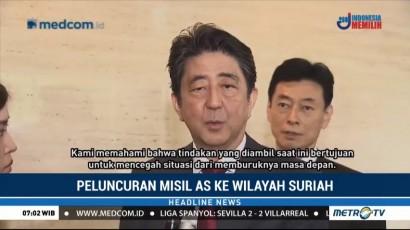 PM Jepang Dukung Langkah Koalisi AS Serang Suriah