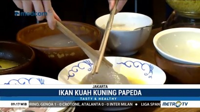 Kuliner Khas Papua: Ikan Kuah Kuning Papeda