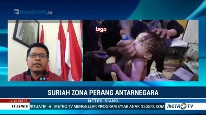 Pengamat: Serangan AS Bertujuan Mendukung Oposisi Suriah