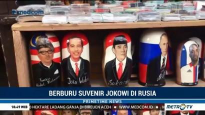 Berburu Suvenir Jokowi di Rusia