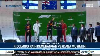 Daniel Ricciardo Juara F1 GP Tiongkok