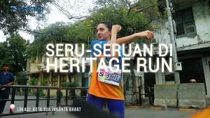 Seru-seruan di Metro TV Heritage Run