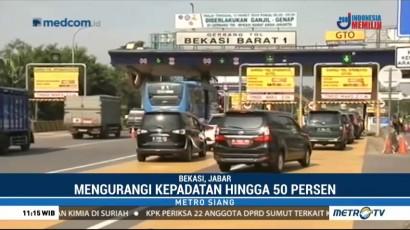 Imbas Ganjil Genap, Jumlah Kendaraan di Tol Bekasi Barat Turun 50 Persen