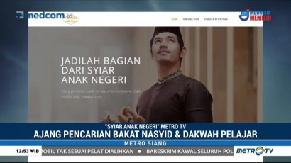 Metro TV Gelar Ajang Pencarian Bakat Nasyid dan Dakwah Pelajar