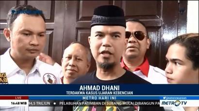 Alasan Ahmad Dhani Ajak Al, El dan Dul ke Persidangan