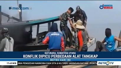 Nelayan di Kabupaten Batubara Terlibat Bentrokan