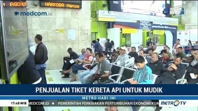 Tiket Kereta Tambahan Mudik untuk Sejumlah Wilayah Telah Habis Terjual