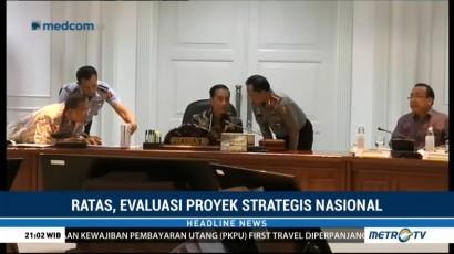 Jokowi Tolak 7 Rencana Proyek Strategis Nasional Kemenhub