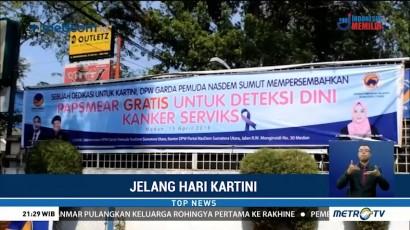 Garda Pemuda NasDem Sumut Gelar Pemeriksaan Kanker Serviks di Medan