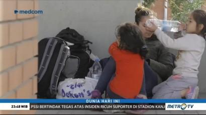 Tolak Dipulangkan, Imigran di Yunani Berkumpul di Kantor Polisi